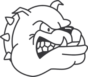 clip art transparent library Collection of free bulldog. Beyblade drawing easy