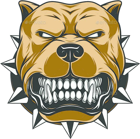 clip library Hd pitbull mal c. Vector bulldog bad dog