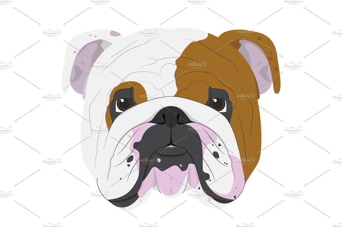 picture library stock Best english library free. Vector bulldog body