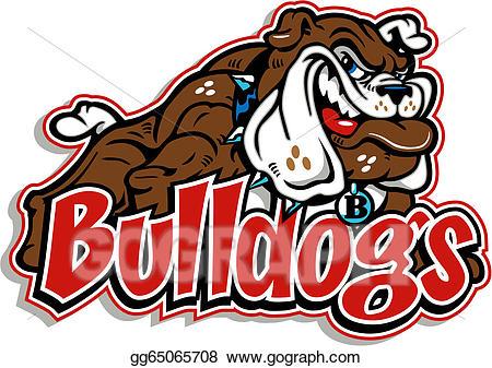banner free library Vector bulldog body. Clipart full smirking