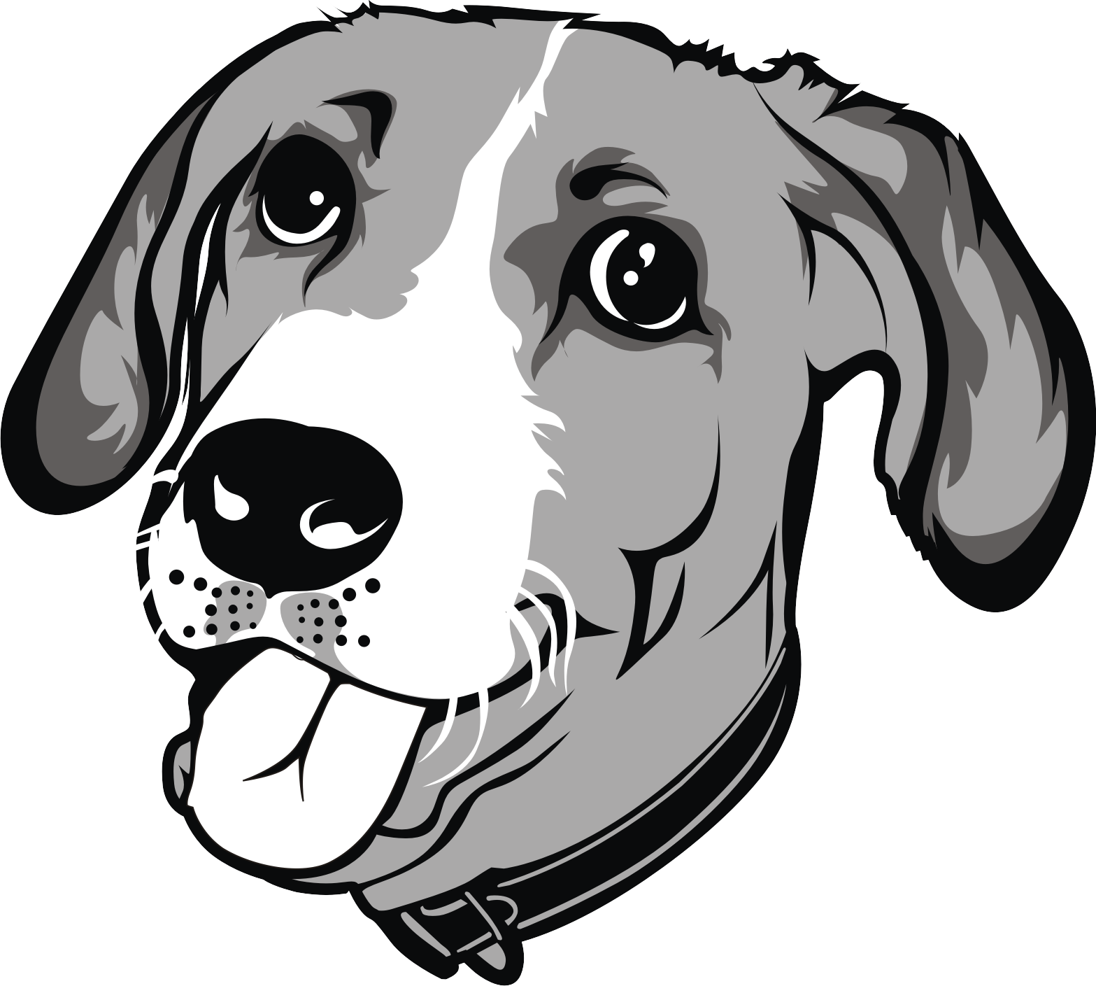 banner free Cartoonize your dog and. Vector bulldog cool drawing