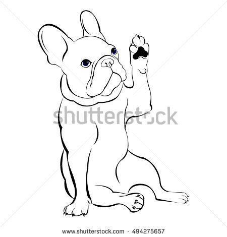 picture freeuse download vector bulldog cute #142990174