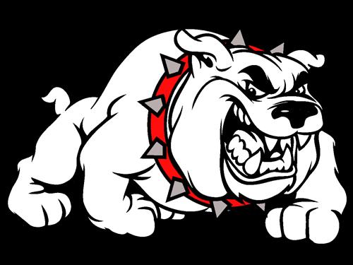 picture Gainesville r school district. Vector bulldog english