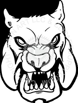 vector freeuse Evil . Vector bulldog face