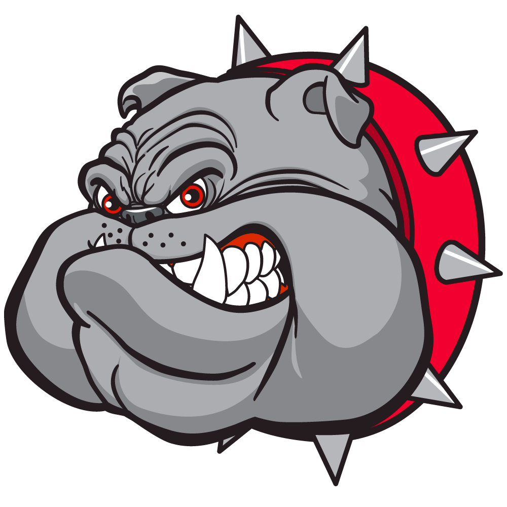 image freeuse Vector bulldog fierce. Briarhil red png bulldogs