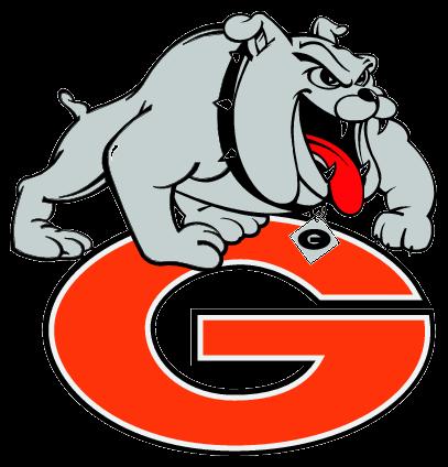 freeuse Georgia Girl Bulldog Clipart