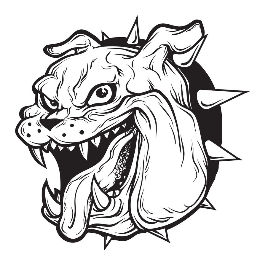 png royalty free download Free Bulldog Vector Art