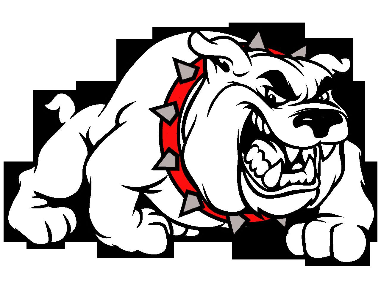 svg stock Bulldog Mascot Clip Art free image