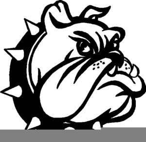 royalty free download Vector bulldog school mascot. Free for use clipart