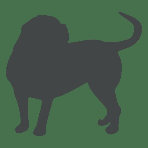 jpg free Transparent png svg. Vector bulldog silhouette