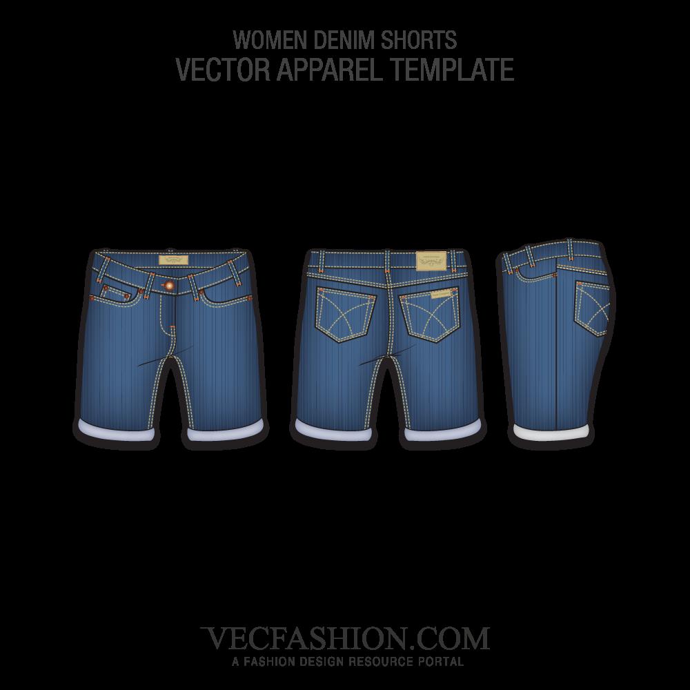 svg free Women s fashion flats. Vector bundles denim
