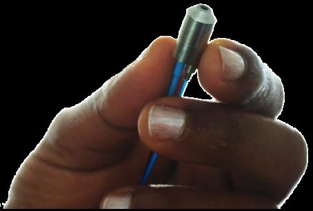 clip black and white Vector bundles grin lens. New fiber optic probe