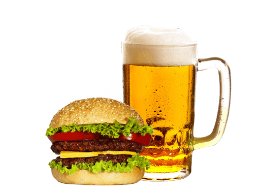 svg royalty free library Vector burger beer. And png transparent images