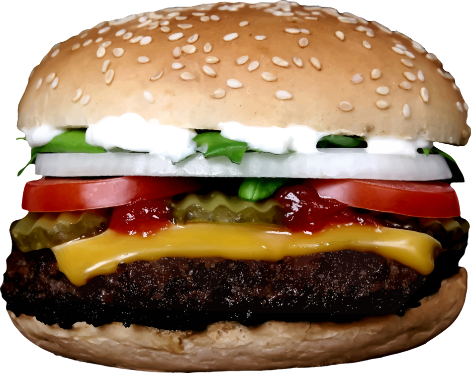 freeuse Vector burger big mac. Hamburger veggie mcdonald s