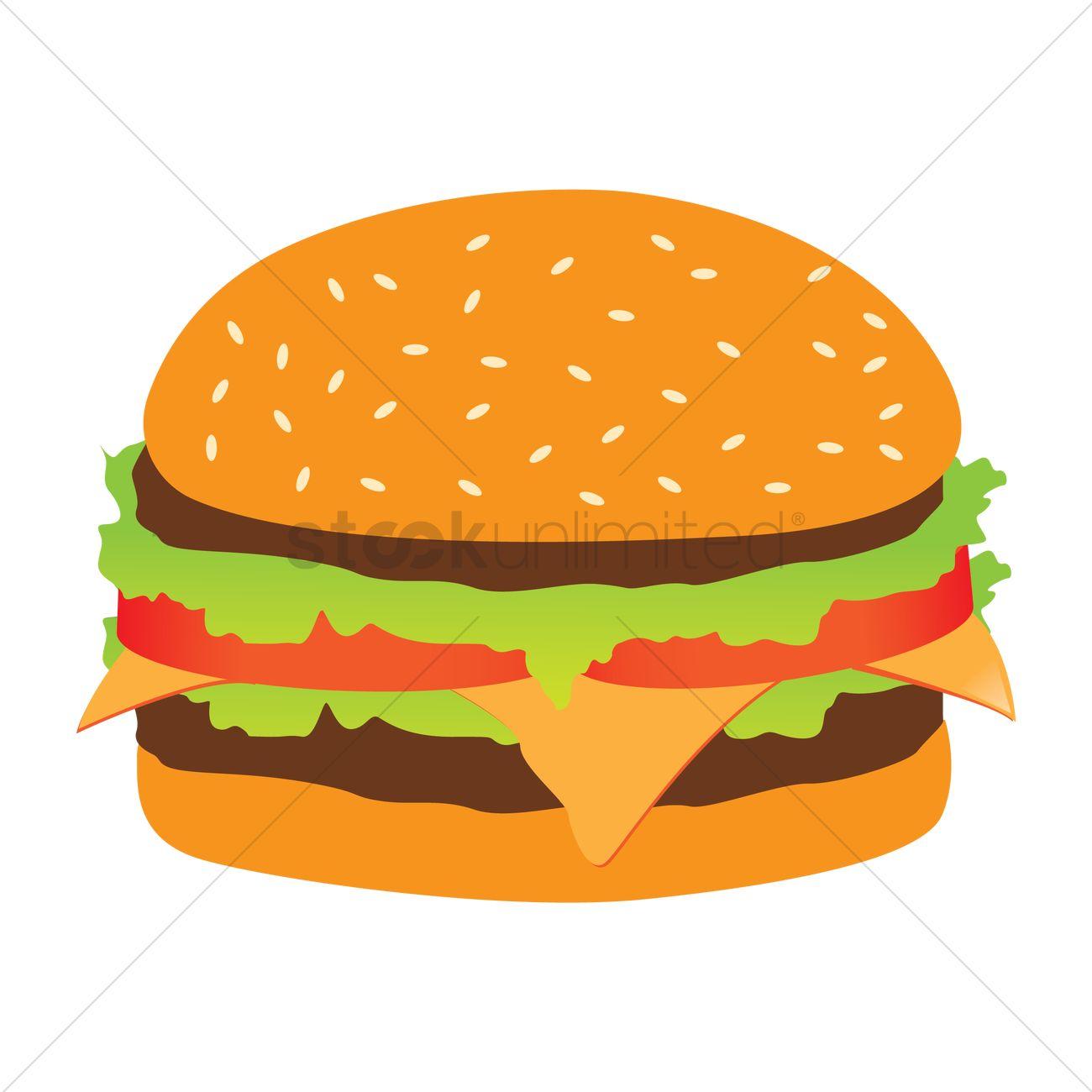 graphic stock Vector burger buger. Clipart clip art transparent