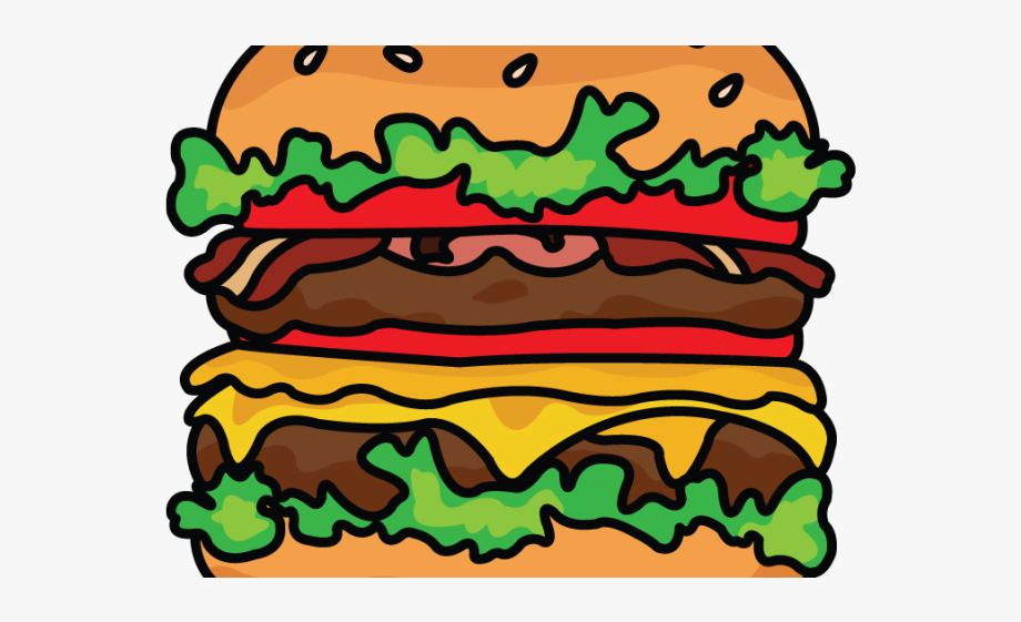 svg library library Clipart drawing png transparent. Vector burger buger