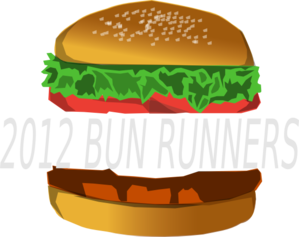 graphic free stock Vector burger bun. With space clip art
