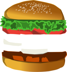 jpg freeuse stock Burger Bun Clipart