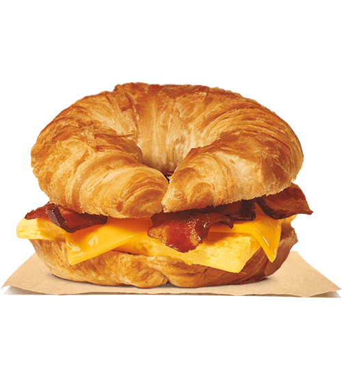 clip black and white download Vector burger cheese. Bacon egg croissan wich