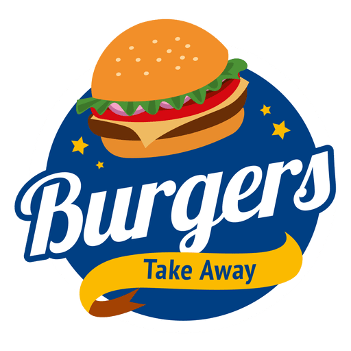 clip art royalty free stock Vector burger cheeseburger. Burgers logo transparent png