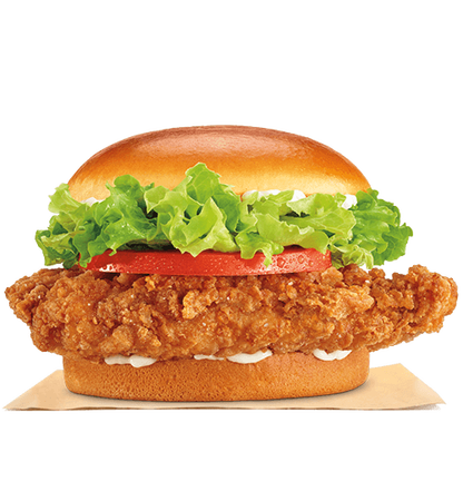 clipart transparent Vector burger chicken. King in south washington