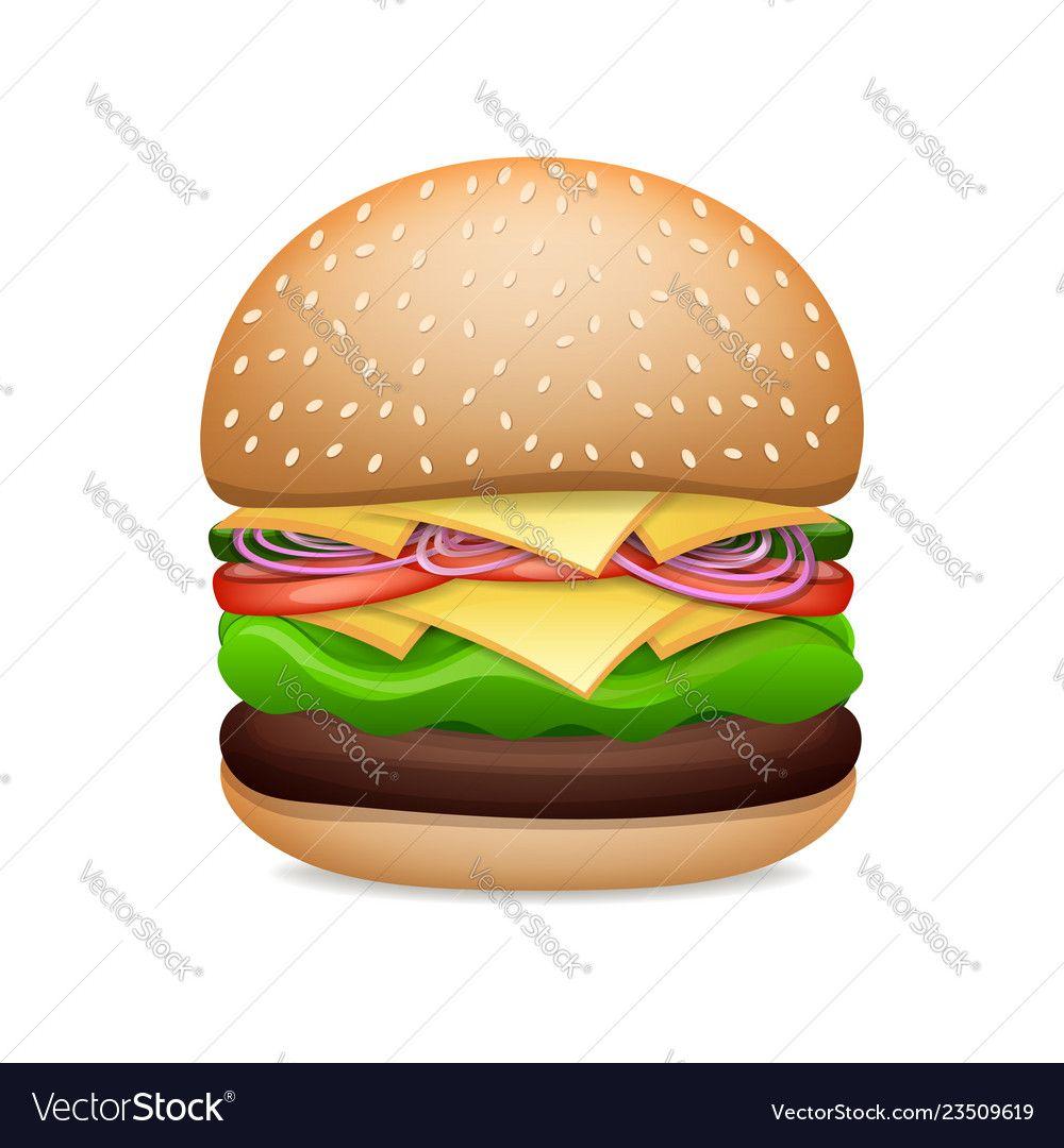 graphic transparent stock Vector burger classic. Pin by roshan rangana