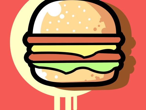 transparent download Vector burger file. Cheese t shirt