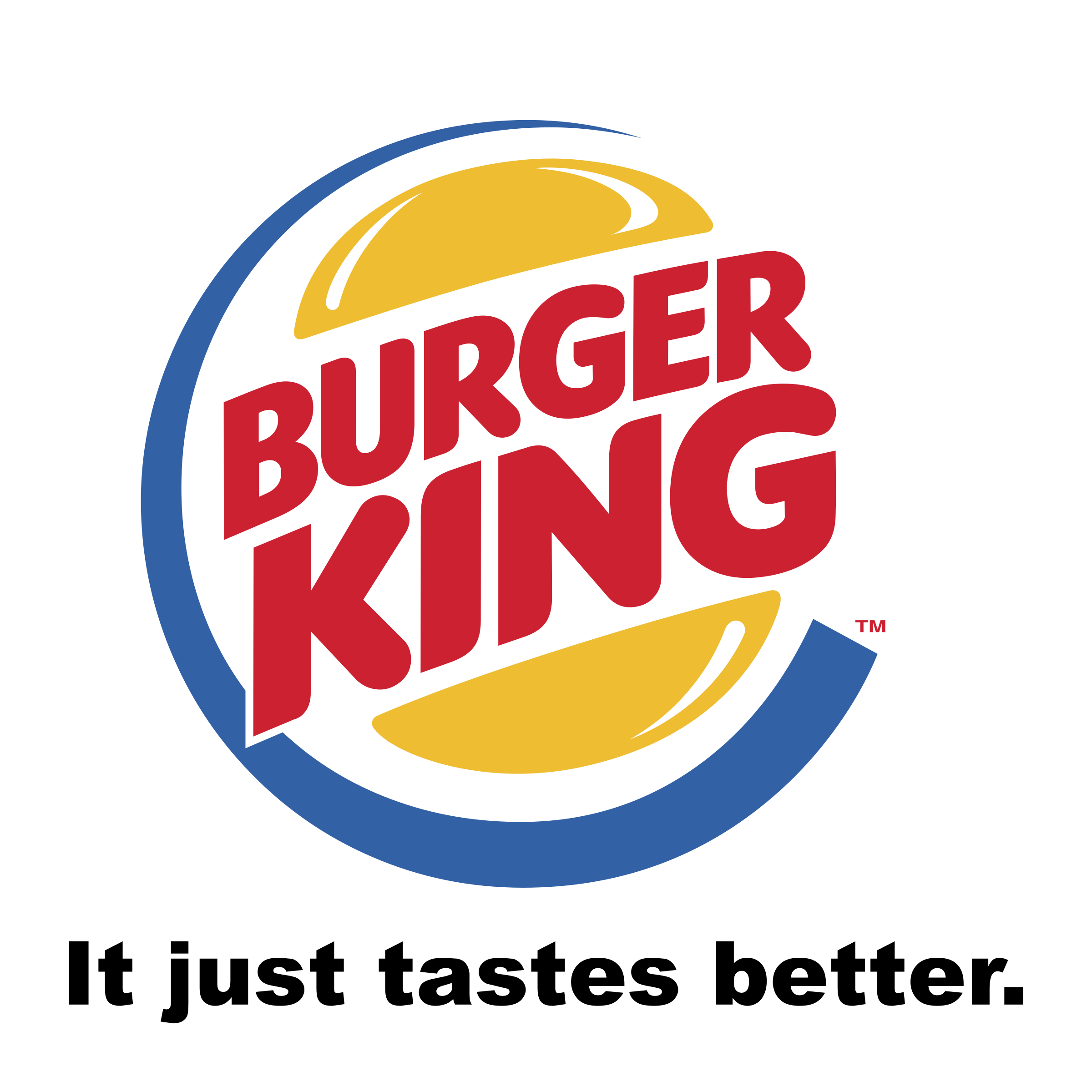 graphic black and white library Burger King