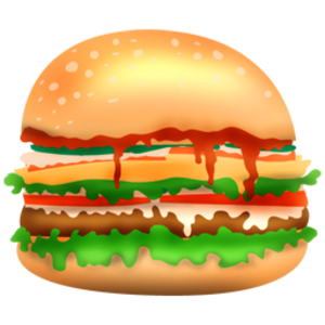clip free stock Free images at clker. Vector burger grilled
