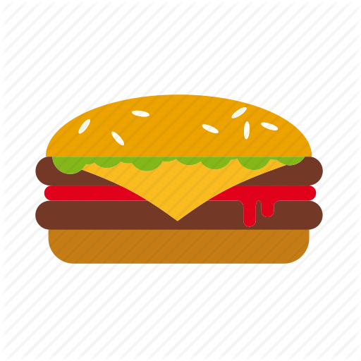 clip art library library Vector burger meat. Colorix food and drink