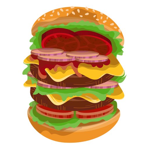 clip black and white Big icon transparent png. Vector burger part