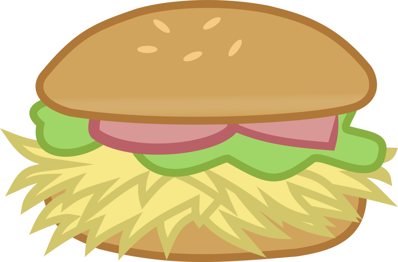 clipart royalty free  absurd res artist. Vector burger simple
