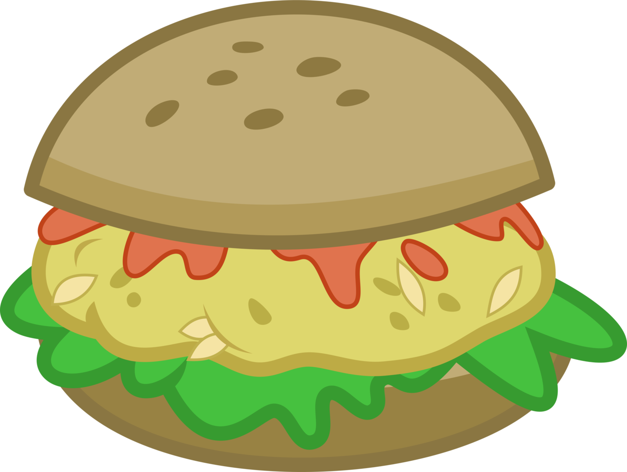 clipart transparent stock  absurd res artist. Vector burger simple