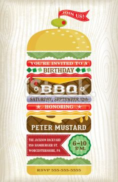 banner freeuse library vector burger stack #142997972