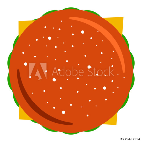 png black and white download Illustrator file buy this. Vector burger top view