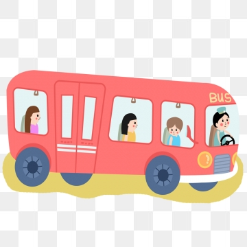 banner black and white library Vector bus animated. Cartoon png images and