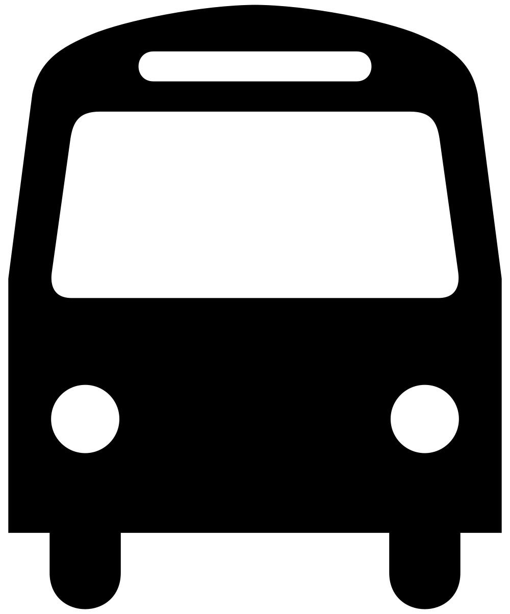 clip royalty free library Vector bus art. File aiga svg wikimedia