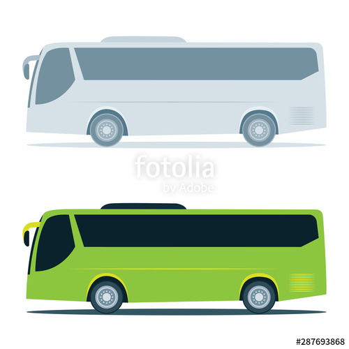 clipart free vector bus blank city #143007133