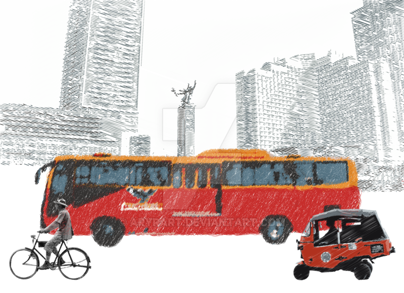 clipart library stock Explore on deviantart ryanthescooterguy. Vector bus busway