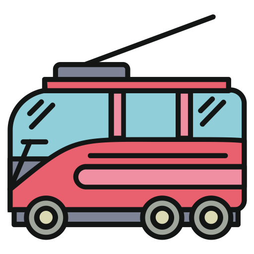 clip art library library Vector bus busway. Icon png and for
