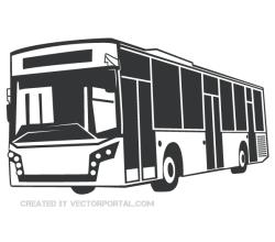 clipart royalty free stock Vector bus clip art. Lightning mcqueen in