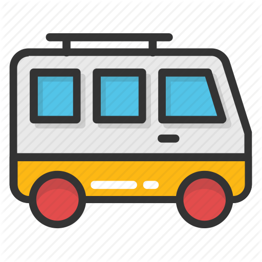 clipart royalty free stock Hotel and travel by. Vector bus coach