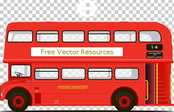 png free download Vector bus double decker. Png clipart stop