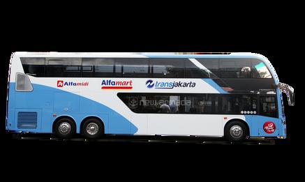 clip art black and white Aceh harga po agen. Vector bus double decker