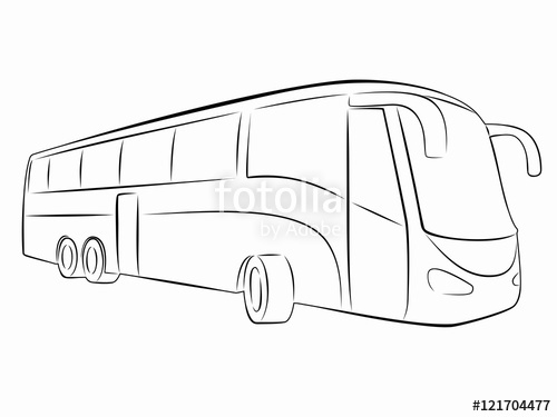 jpg download silhouette of bus