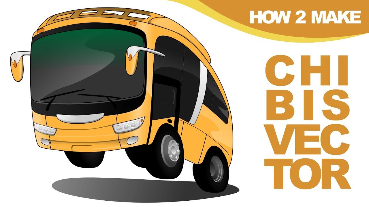 vector transparent download Chibis . Vector bus gambar