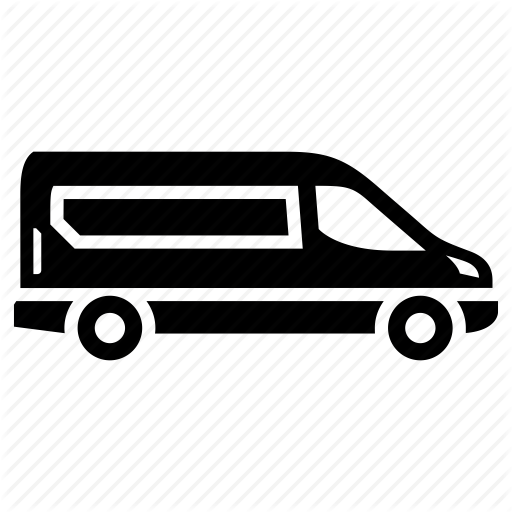 stock Transport set of trucks. Vector bus mini