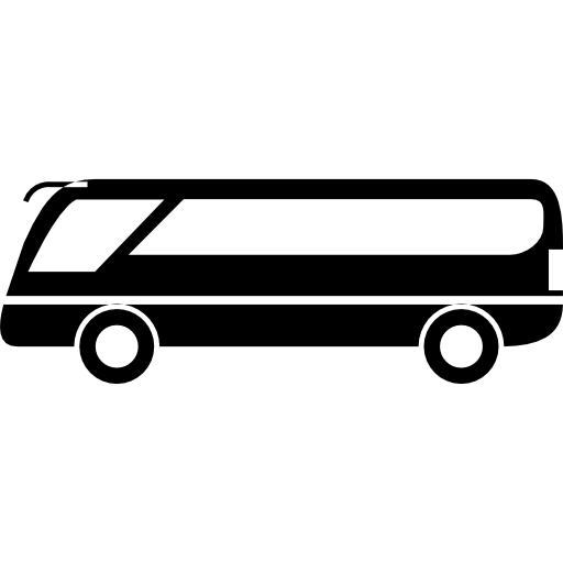 banner stock Vector bus modern. Free transport icons icon