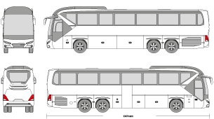 png Mr clipart doors. Vector bus neoplan