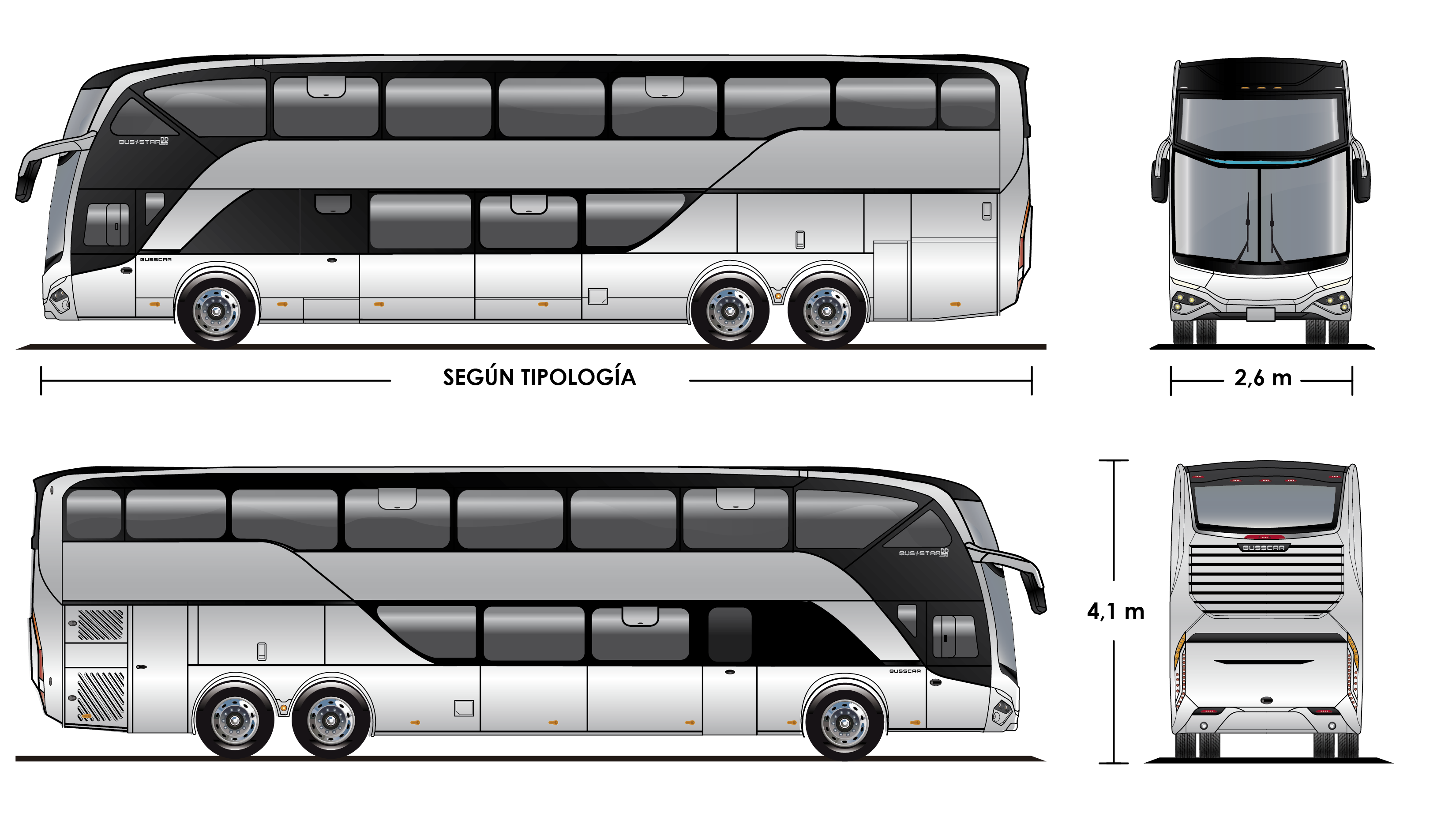 png free stock Vector bus neoplan. Busstar dd s layout